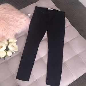 Free People black skinny jeans size 26